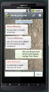 WhatsApp Messenger for Android Devices